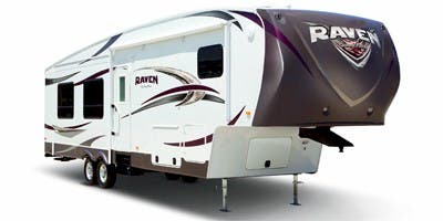 Find Specs for 2013 SunnyBrook - Raven <br>Floorplan: 2910RL (Fifth Wheel)