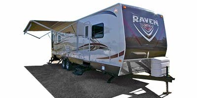 Find Specs for 2012 SunnyBrook Raven Travel Trailer RVs