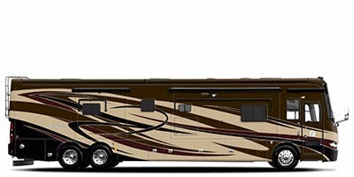Find Specs for 2013 Tiffin - Allegro Bus <br>Floorplan: 40 QBP (Class A)