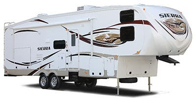 Find Specs for 2013 Forest River Sierra Select Fifth Wheel RVs
