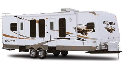 Find Specs for 2013 Forest River Sierra Select Travel Trailer RVs