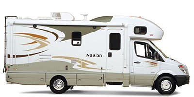 Find Specs for 2014 Itasca Navion Class C RVs