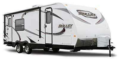 Find Specs for 2014 Keystone - Bullet <br>Floorplan: 281BHS (Travel Trailer)