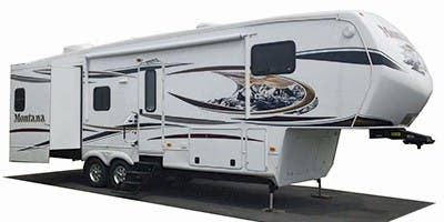 Find Specs for 2013 Keystone Montana Hickory Fifth Wheel RVs