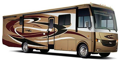 Find Specs for 2013 Newmar - Canyon Star <br>Floorplan: 3610 (Class A)