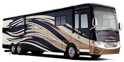 Find Specs for 2013 Newmar - Dutch Star <br>Floorplan: 4344 (Class A)