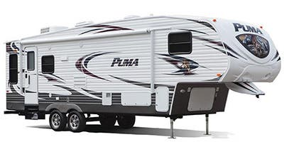 Find Specs for 2013 Palomino Puma Fifth Wheel RVs
