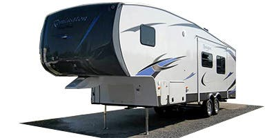 Find Specs for 2013 SunnyBrook - Remington <br>Floorplan: 326DB (Fifth Wheel)