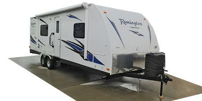 Find Specs for 2014 SunnyBrook - Remington <br>Floorplan: 30RKS (Travel Trailer)