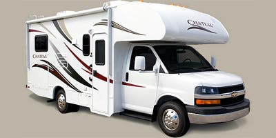 Find Specs for 2013 Thor Motor Coach - Chateau <br>Floorplan: 28A (Class C)