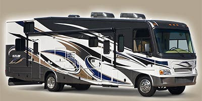 Find Specs for 2013 Thor Motor Coach Outlaw Toy Hauler RVs