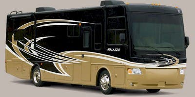 Find Specs for 2013 Thor Motor Coach - Palazzo <br>Floorplan: 33.1 (Class A)