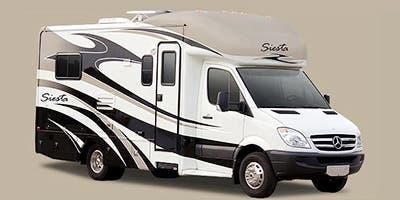 Full Specs For 2013 Thor Motor Coach Siesta Sprinter 24sr