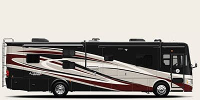 Find Specs for 2014 Tiffin - Allegro Red <br>Floorplan: 38 QBA (Class A)