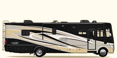 Find Specs for 2014 Tiffin - Allegro <br>Floorplan: 35 QBA (Class A)