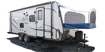 Find Specs for 2014 Coachmen - Apex <br>Floorplan: 20RBX (Travel Trailer)
