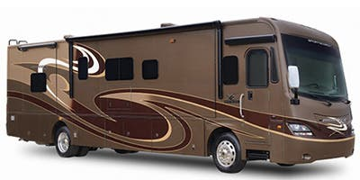 Find Specs for 2014 Coachmen - Pathfinder <br>Floorplan: 405FK (Class A)