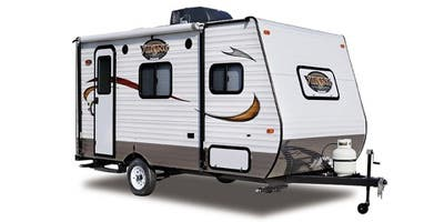 Find Specs for 2014 Coachmen - Viking <br>Floorplan: 13SV (Travel Trailer)