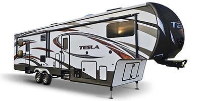 Tesla toy hauler