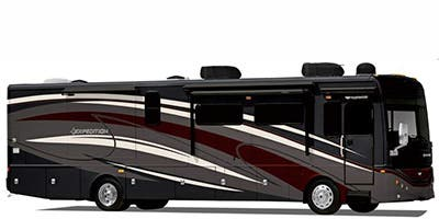 Find Specs for 2014 Fleetwood - Expedition <br>Floorplan: 38B (Class A)