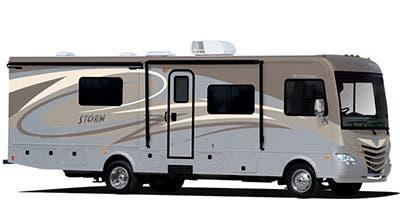 Find Specs for 2014 Fleetwood Storm Class A RVs