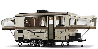 Find Specs for 2014 Forest River Rockwood Toy Hauler RVs
