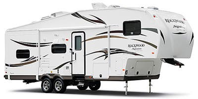 Find Specs for 2014 Forest River - Rockwood Signature Ultra Lite <br>Floorplan: 8289WS (Fifth Wheel)