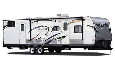 Find Specs for 2014 Forest River - Salem <br>Floorplan: T30KQBSS (Travel Trailer)