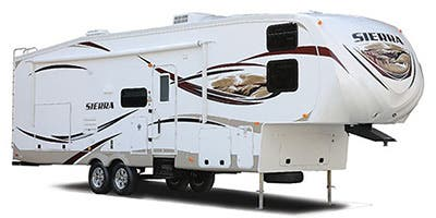 Find Specs for 2014 Forest River Sierra Select Fifth Wheel RVs