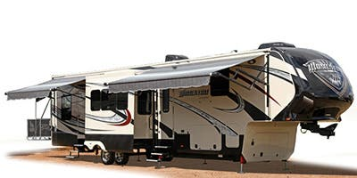 Find Specs for 2015 Grand Design - Momentum <br>Floorplan: 385TH (Toy Hauler)