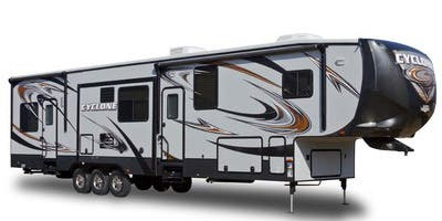 Find Complete Specifications For Heartland Cyclone Toy Hauler Rvs Here