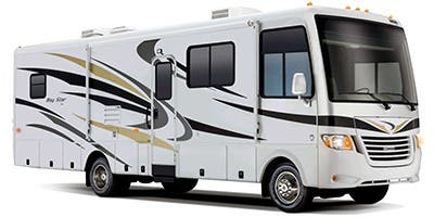 Find Specs for 2014 Newmar - Bay Star <br>Floorplan: 2903 (Class A)