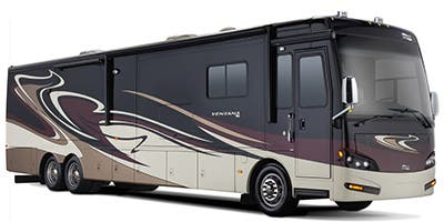 Find Specs for 2014 Newmar - Ventana <br>Floorplan: 3436 (Class A)