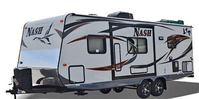 Find Specs for 2015 Northwood - Nash <br>Floorplan: 24M (Travel Trailer)