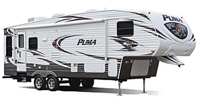 Find Specs for 2014 Palomino Puma Fifth Wheel RVs