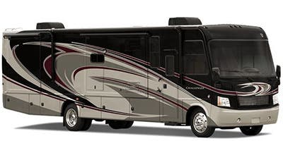 Find Specs for 2014 Thor Motor Coach - Challenger <br>Floorplan: 37KT (Class A)