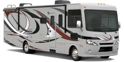 Find Specs for 2014 Thor Motor Coach - Hurricane <br>Floorplan: 29X (Class A)