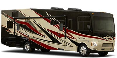 Find Specs for 2015 Thor Motor Coach Outlaw Toy Hauler RVs