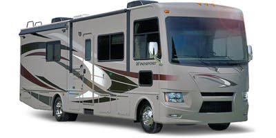 Find Specs for 2014 Thor Motor Coach - Windsport <br>Floorplan: 27K (Class A)