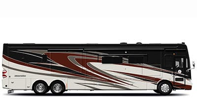 Find Specs for 2014 Tiffin - Allegro Bus <br>Floorplan: 40 SP (Class A)