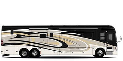 Find Specs for 2015 Tiffin - Zephyr <br>Floorplan: 45 TZ (Class A)
