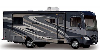 Find Specs for 2015 Fleetwood - Storm <br>Floorplan: 28MS (Class A)