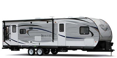 Find Specs for 2015 Forest River - Salem <br>Floorplan: T37BHSS2Q (Travel Trailer)