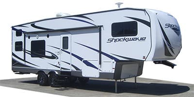 Find Specs for 2015 Forest River Shockwave Toy Hauler RVs