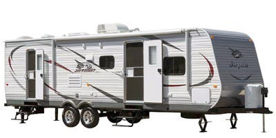 Find Specs for 2015 Jayco - Jay Flight <br>Floorplan: 34RSBS (Travel Trailer)