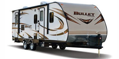 Find Specs for 2015 Keystone - Bullet <br>Floorplan: 308BHS (Travel Trailer)