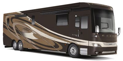 Find Specs for 2015 Newmar - Essex <br>Floorplan: 4568 (Class A)