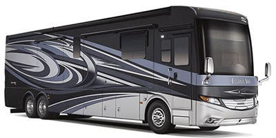 Find Specs for 2015 Newmar - London Aire <br>Floorplan: 4599 (Class A)