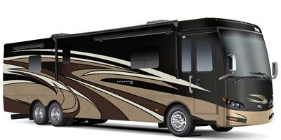 Find Specs for 2015 Newmar - Ventana <br>Floorplan: 4381 (Class A)