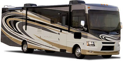 Find Specs for 2015 Thor Motor Coach - Windsport <br>Floorplan: 27K (Class A)